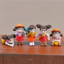 Miniature Kid Figurines 5pcs