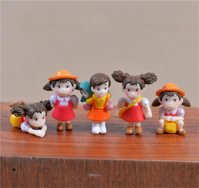 Miniature Kid Figurines 5pcs