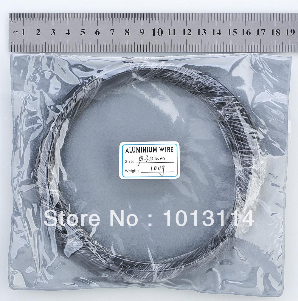 Bonsai Aluminum Training Wire 3.0 mm 100G