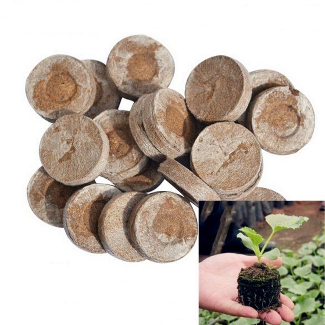 30mm Jiffy Peat Pellets Seed Starter 5pcs
