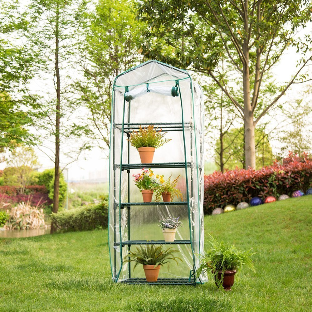 Warm Mini Household Greenhouse Nursery Cover