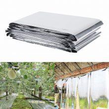 Garden Greenhouse Plant Reflective Film Cover Solar Transmitting 210 x 120cm