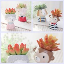 Cute Animals Small Succulent Flower Pot